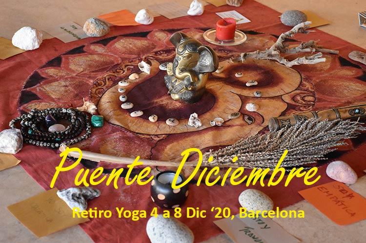 retiro yoga barcelona diciembre