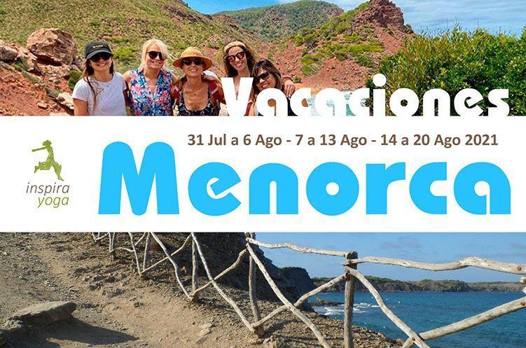 Vacaciones yoga agosto en Menorca