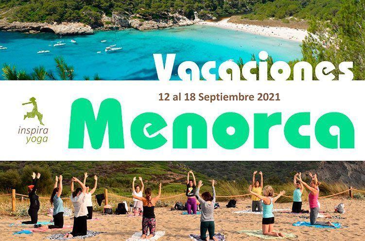 Retiro Yoga y Mar Menorca Septiembre 2021